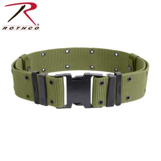 9026_Rothco New Issue Marine Corps Style Quick Release Pistol Belts-