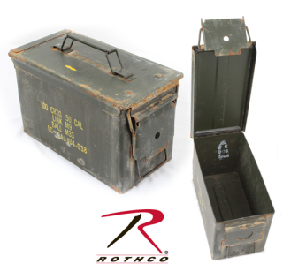GI .30 & .50 Caliber Ammo Cans - Surplus-