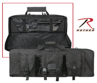 "Rothco 36"" Black Tactical Rifle Case-"