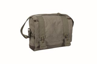 Rothco Vintage Canvas B-15 Pilot Messenger Bag-