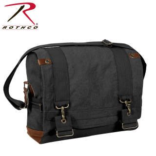 Rothco Vintage Canvas B-15 Pilot Messenger Bag-