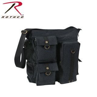 Rothco Vintage Multi Pocket Messenger Bag-