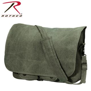 Rothco Vintage Canvas Paratrooper Bag-Rothco
