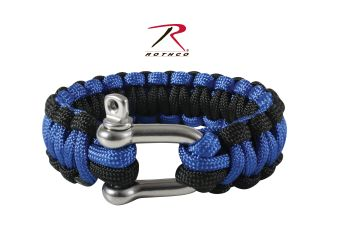 Rothco Paracord Bracelet With D-Shackle-