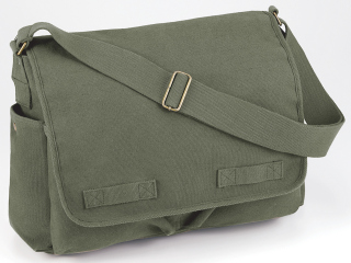 Rothco Vintage Unwashed Canvas Messenger Bag-