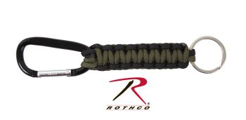 Rothco Paracord Keychain with Carabiner-