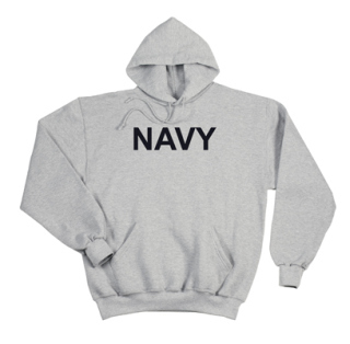Rothco Navy Pullover Hooded Sweatshirt-