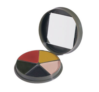 Rothco GI Type 5 Color Camo Face Paint - Round Compact-Rothco