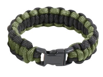 Rothco Two-Tone Paracord Bracelet-