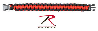 Rothco Thin Red Line Paracord Bracelet-