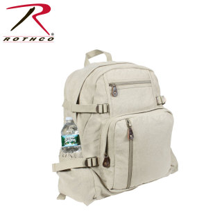 Rothco Jumbo Vintage Canvas Backpack-
