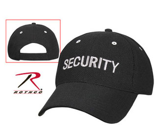 'security' Air Mesh Low Profile Insignia Cap