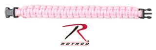 Rothco Solid Color Paracord Bracelet-