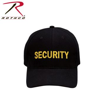 Rothco Security Supreme Low Profile Insignia Cap-