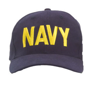 ''navy'' Low Profile Insignia Cap-Rothco