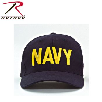 Rothco Navy Supreme Low Profile Insignia Cap-