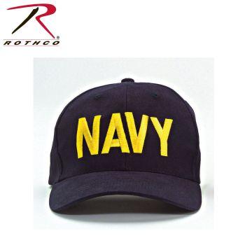 Rothco Navy Supreme Low Profile Insignia Cap-Rothco