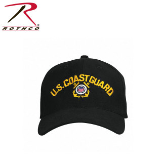 Rothco U.S. Coast Guard Low Profile Insignia Cap-Rothco