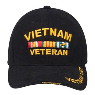 Rothco Deluxe Low Profile Vietnam Veteran Insignia Cap-334713-Rothco