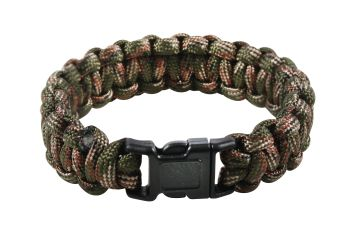 Rothco Multi-Colored Paracord Bracelet-