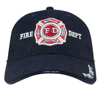 Rothco Deluxe Fire Department Low Profile Cap-Rothco
