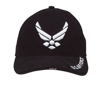 Rothco Deluxe U.S. Air Force Wing Low Profile Insignia Cap-Rothco