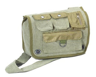 Rothco Vintage Canvas Venturer Survivor Shoulder Bag-