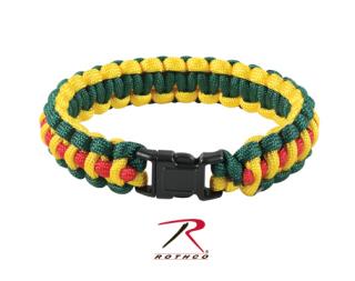 Rothco Multi-Colored Paracord Bracelet-Rothco