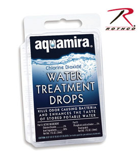Aquamira Water Treatment Kit-Rothco