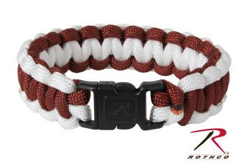 Rothco Two-Tone Paracord Bracelet-