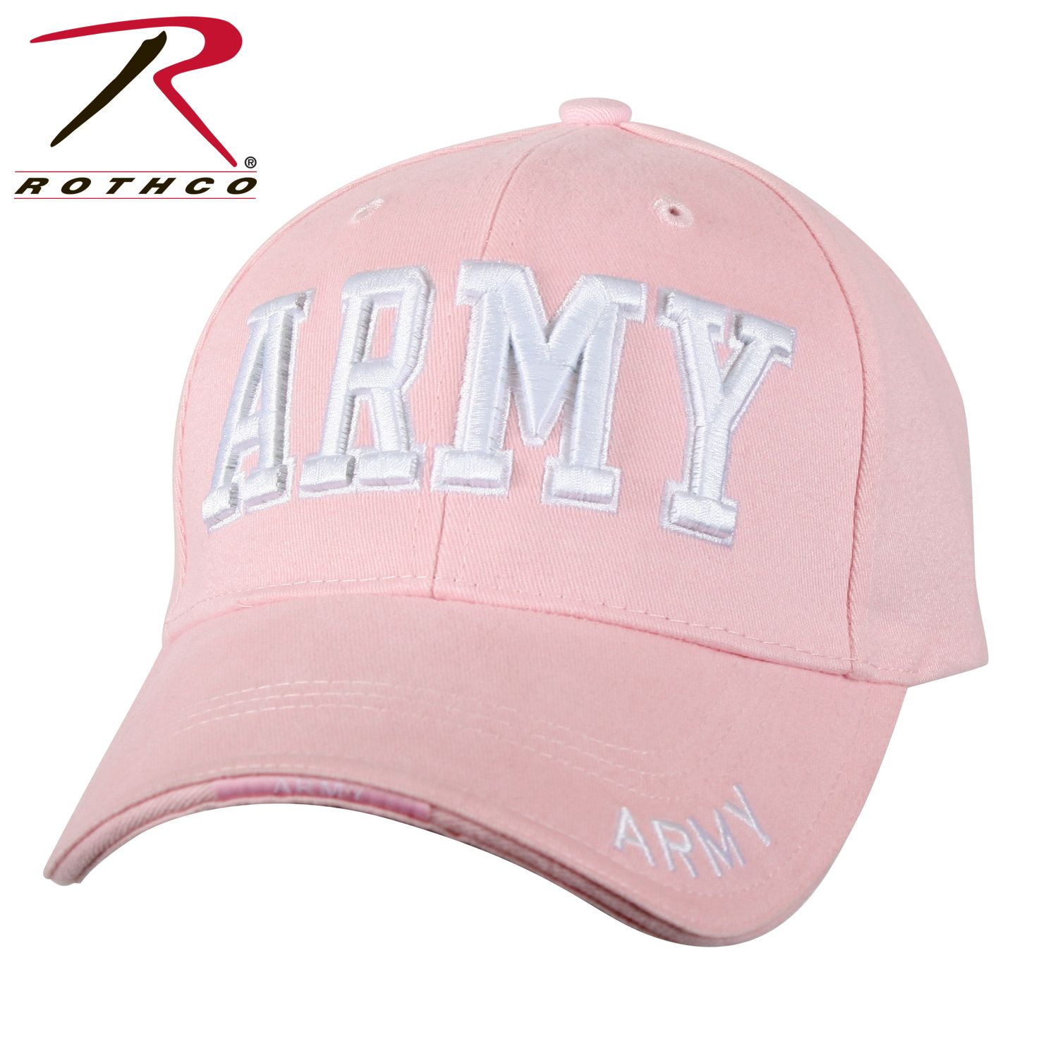 38f47a67167 Rothco Deluxe Army Embroidered Low Profile Insignia Cap-Rothco