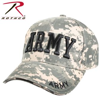Rothco Deluxe Army Embroidered Low Profile Insignia Cap-