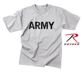 Rothco Army Moisture Wicking P/T T-Shirt-Rothco