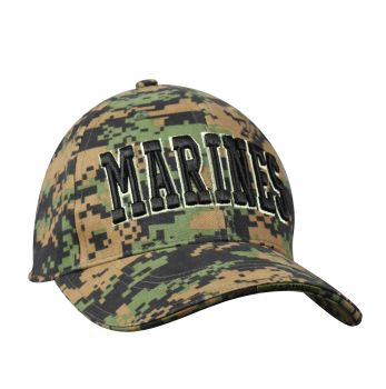 Rothco Deluxe Marines Low Profile Insignia Cap-Rothco