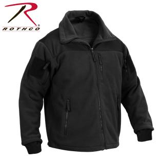 Rothco Spec Ops Tactical Fleece Jacket - Black