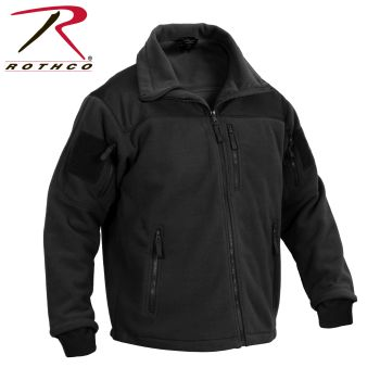 Rothco Spec Ops Tactical Fleece Jacket-Black