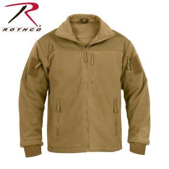 96682 Rothco Spec Ops Tactical Fleece Jacket-Coyote