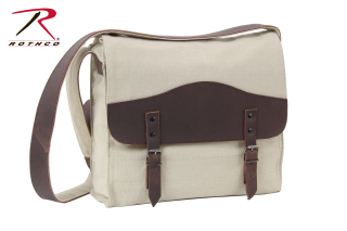 Rothco Vintage Canvas Medic Bag w/ Leather Accents-Rothco