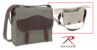 9671_Rothco Vintage Canvas Medic Bag with Leather Accents-