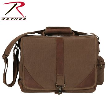 Rothco Vintage Canvas Urban Pioneer Laptop with Leather Accents-