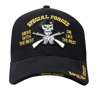 Rothco Deluxe Low Profile Special Forces Insignia Cap-