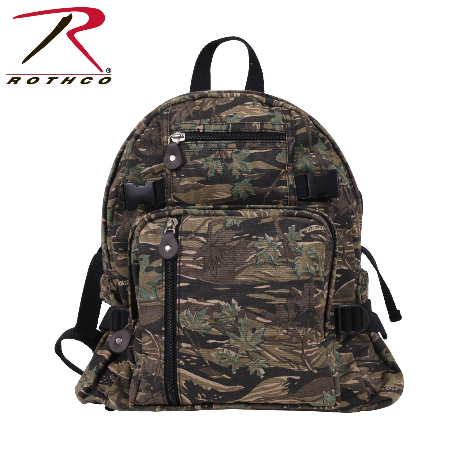 d407d84dca92 Buy Rothco Vintage Canvas Compact Backpack - Rothco Online at Best ...