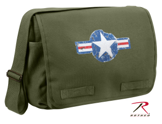 Rothco Air Corps Heavyweight Classic Messenger Bag-Rothco
