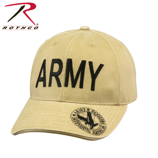 Rothco Vintage Deluxe Army Low Profile Insignia Cap-Rothco