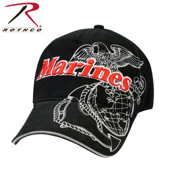 Rothco Deluxe Marines G&A Low Profile Insignia Cap-Rothco