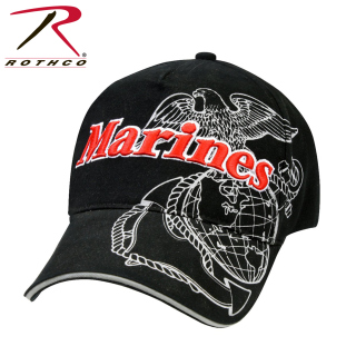9794_Rothco Deluxe Marines Eagle, Globe & Anchor Low Pro Cap-