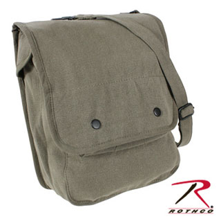 Rothco Vintage Canvas Map Case Shoulder Bag-
