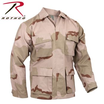 9810_Rothco Rip-Stop SWAT Cloth BDU Shirt (65% Poly / 35% Cotton)-