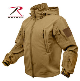 Rothco Special Ops Tactical Softshell Jacket - Coyote