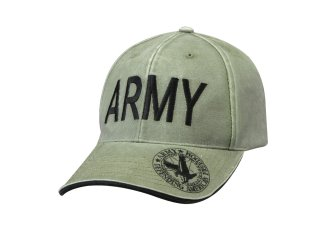 Rothco Vintage Deluxe Army Low Profile Insignia Cap-